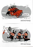 Série De 10 CP Humoristiques BRETAGNE - BREIZH MUMMYS - Humor