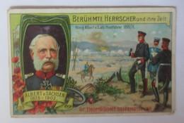 Dr. Thompson's Seifenpulver Berühmte Herrscher Und Ihre Zeit  1870/71 ♥ (54998) - Kaufmanns- Und Zigarettenbilder