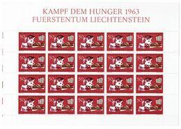 Mi. 432 ** 20er Bogen - Unused Stamps