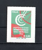 ITALIA :  Esposizione Internazionale EICMA - 1 Val. 0,95 €;. MNH**  8.11.2016 - 2011-...: Neufs