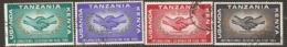 Kenya Uganda Tanganyika  1965 SG  219-22  I C Y   Fine Used - Kenya, Uganda & Tanzania