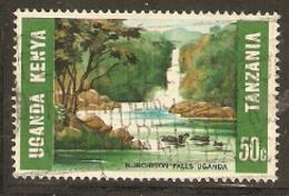 Kenya Uganda Tanganyika  1966 SG  224  Murchison Falls  Fine Used - Kenya, Ouganda & Tanzanie