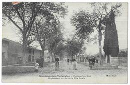 Montesquieu-Volvestre Boulevard Du Nord Emplacement Du Bal De La Fète Locale - France