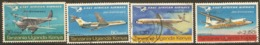 Kenya Uganda Tanganyika  1967 SG  235-8  East African Airways   Fine Used - Kenya, Uganda & Tanzania