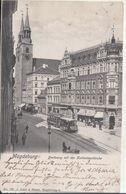 Magdeburg - Breiteweg Mit Der Katharinenkirche - Magdeburg