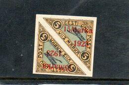 ESTONIE 1923 * - Estonie