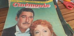 CINEMONDE/ERROL FLYNN/BOURVIL VIVIANE ROEMANCE/FERNANDEL /EDITH PIAF DISCITHEQUE - 1900 - 1949