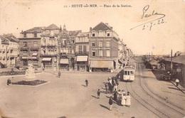 Heist Aan Zee  Stationsplein Station Place De La Station Anno 1922  Tram     M 4212 - Heist