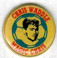 Pin's Football OM Marseille Chris Waddle - Calcio