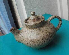 THEIERE En Grès Estampillée LA HULOTE - Vintage - CAYLUS (tarn Et Garonne) - Teekannen
