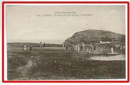 25157   CPA    SAINT BRIAC : Un Match De Golf En Cours ; Au Loin , La Garde Guérin !! ACHAT DIRECT !! - Saint-Briac