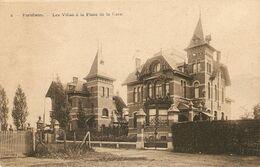 Bornhem / Bornem / Bornheim : Les Villas à La Place  De La Gare 1910 - Bornem