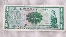 Billet Banknote  Paraguay 1 Guarani Paper Money #16 - Paraguay