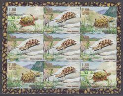 1999Abkhazia Republic KLReptiles / Turtles - Tortues