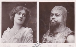 ACTRESS - LILY BRAYTON/ OSCAR ASCHE - Teatro