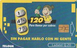 GUATEMALA. 147/120 - Sin Pagar Hablo Con Mi Gente. 2003-01-01. GT-TLG-0153. (019) - Guatemala