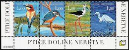 2005 Bosnia Herzegovina (Croatian Post) Birds Of The Neretva Valley Set (** / MNH / UMM) - Oiseaux