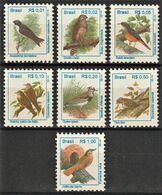 1994 Brazil Birds Definitives Set (** / MNH / UMM) - Passereaux