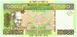 Guinea - 500 Francs - 2006 - Pick: 39.a - Unc. - Serie GD - Guinea