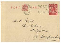 (K 8) Great Britain Pre-paid Postal Card  - Grande Bretagne - (1931) - Ohne Zuordnung