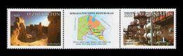Uzbekistan 2014 Mih. 1070/71 Regions Of Uzbekistan. Karakalpakstan MNH ** - Uzbekistan