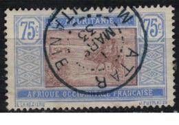 MAURITANIE         N°  YVERT :  30  ( 14 ) OBLITERE       ( OB 8 / 37 ) - Mauritanie (1906-1944)