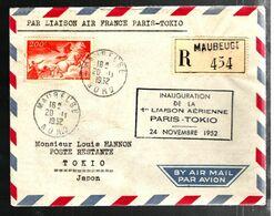 35922 - PARIS  - TOKIO - Eerste Vluchten