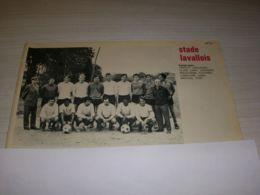 FOOTBALL COUPURE PRESSE MF34 N&B 17x14 1970 STADE LAVALLOIS LAVAL - Fútbol