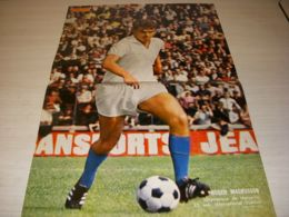 FOOTBALL POSTER PO002 48x32 1968/69 Roger MAGNUSSON OM MARSEILLE - Fussball