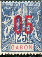 Gabon ,année1912 N°70** - Ongebruikt