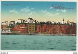 AK  Helgoland Nordseite 1925 - Helgoland