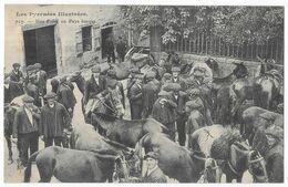 Une Foire En Pays Basque - France