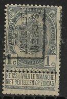 Sichem Lez Diest 1897  Nr.  105B - Precancels