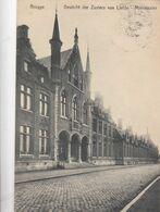 BRUGGE / GESTICHT ZUSTERS VAN LIEFDE AAN HET MINNEWATER  1927 - Brugge