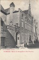BRUGGE /  PETER POURBUS STRAAT / HUIS VAN DE BURGEMEESTER  1903 - Brugge