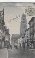 BRUGGE /  ZUIDZANDSTRAAT  EN ST SALVATOR  1908 - Brugge