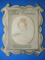 CARTON PUBLICITAIRE LAIT CANDES - Paperboard Signs