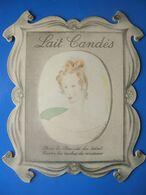 CARTON PUBLICITAIRE LAIT CANDES - Plaques En Carton