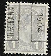 Luxembourg 1904  Nr. 17B - Precancels