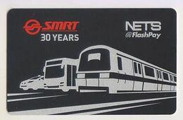 Singapore Cash Card Farecard New Unused Cashcard Subway Bus - Andere Sammlungen
