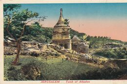 PALESTINE (ISRAEL) . JERUSALEM  . Tombeau D' Absalon - Palestine