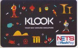 Singapore Cash Card Farecard Unused Cashcard - Other