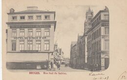 BRUGGE / ZUIDZANDSTRAAT / HOTEL DU SINGE D OR 1903 - Brugge