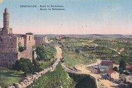 PALESTINE . JERUSALEM  . Route De Bethléem - Palestine