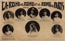 CPA PARIS 1914- Les Fétes De La Mi-Caréme - Souvenir (114618) - Andere