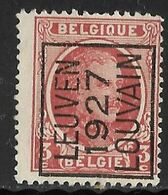 Leuven 1927 Typo Nr. 153A - Sobreimpresos 1922-31 (Houyoux)