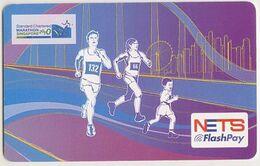 Singapore Cash Card Farecard Unused Cashcard Marathon - Andere Sammlungen
