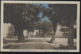 04  - SAINT ETIENNE Les ORGUES - La Place Des Ormeaux - Otros Municipios