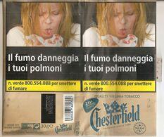 CHESTERFIELD BLU TABACCO PER SIGARETTA ITALY  SIGARETTE - Empty Tobacco Boxes