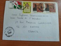 MADAGASCAR   - Lettre Pour La France Ayant Circulé - Madagascar (1960-...)
